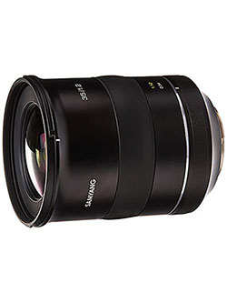 XP 35mm F1.2 High Speed Wide Angle Lens for Canon EF by Samyang, Toys