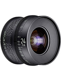by Rokinon 24mm T1.5 Pro Cine Lens for Canon EF by Xeen CF