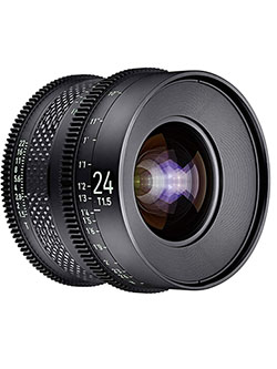 by Rokinon 24mm T1.5 Pro Cine Lens for Sony E by Xeen CF