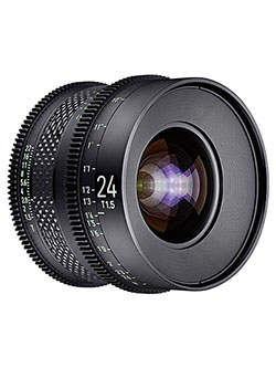 by Rokinon 24mm T1.5 Pro Cine Lens for PL by Xeen CF