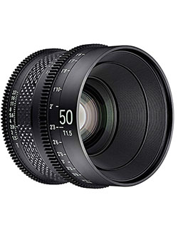 by Rokinon 50mm T1.5 Pro Cine Lens for Canon EF by Xeen CF