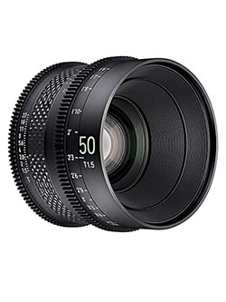 by Rokinon 50mm T1.5 Pro Cine Lens for Sony E by Xeen CF