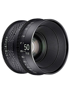 by Rokinon 50mm T1.5 Pro Cine Lens for PL by Xeen CF