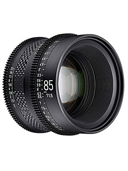 by Rokinon 85mm T1.5 Pro Cine Lens for Canon EF by Xeen CF