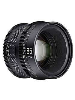 by Rokinon 85mm T1.5 Pro Cine Lens for Sony E by Xeen CF