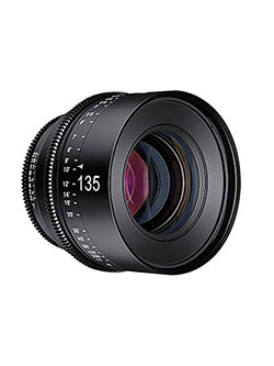 Xeen 135mm T2.2 Professional Cine Lens for Micro Four Thirds by Rokinon in Black