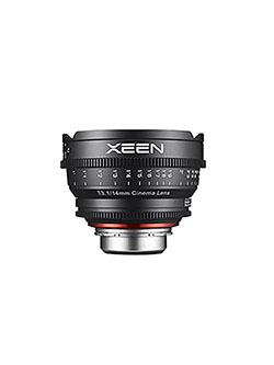 Xeen XN14-NEX 14mm T1.5 Professional Cine Lens for Sony E Mount Interchangeable Lens Cameras by Rokinon in Black