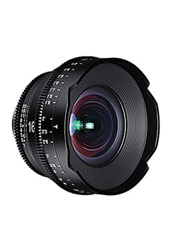 ROKINON XEEN 16mm T2.6 Professional Cine Lens for Micro Four Thirds Interchangeable Lens Cameras by Rokinon in Black