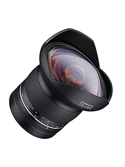 SP Special Performance 10mm f/3.5 Ultra Wide Angle Lens for Canon EF Mount by Rokinon in Black