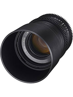 50mm T/1.3 High Speed Cine Lens by Rokinon - Camera Accessories