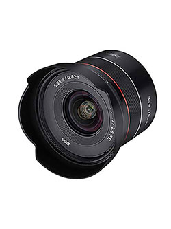 ROKINON AF 18mm F2.8 Wide Angle auto Focus Full Frame Lens for Sony E Mount, Black by Rokinon in Black, Toys