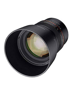 85mm F1.4 Weather Sealed High Speed Telepoto Lens for Canon R Mirrorless Cameras by Samyang