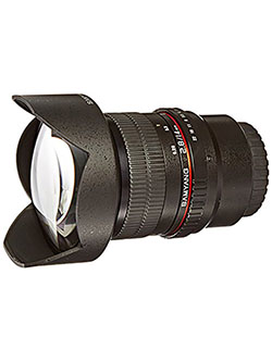 SY14M-MFT 14mm F2.8 Ultra Wide Micro Four-Thirds Mount Fixed Lens for Olympus/Panasonic Micr by Samyang in Black