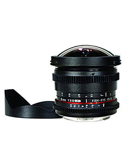 8mm T/3.8 Fisheye Cine Lens with Removable Hood for Sony E by Rokinon in Black, Toys