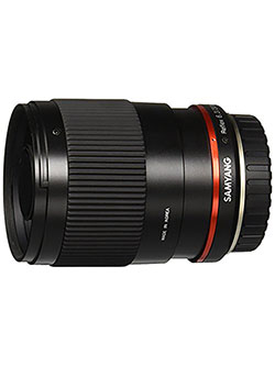 SY300M-FX-BK 300mm F6.3 Mirror Lens for Fuji X Mirrorless Interchangeable Lens Cameras by Samyang in Black