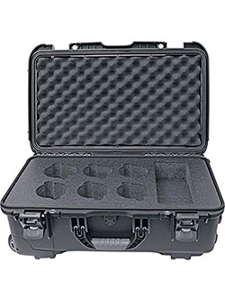 6 Lens Carry-On Case for Cine DS and Cine Series by Rokinon, Toys