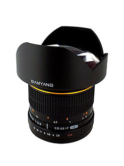 SY14M-O 14mm F2.8 Ultra Wide Angle Lens for Olympus by Samyang in Black