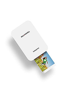 Bell+HowellBHIP10W instaprint Bluetooth Mobile Printer by Bell + Howell in White