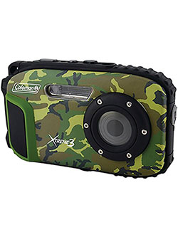 C9WP-CAMO Xtreme3 20 MP Waterproof Digital Camera with Full 1080p HD Video by Coleman in Camo