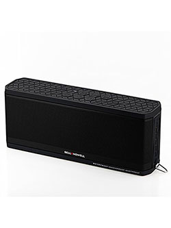 Bell+Howell BH50-BK Waterproof Desktop Bluetooth Speaker by Bell + Howell in Black