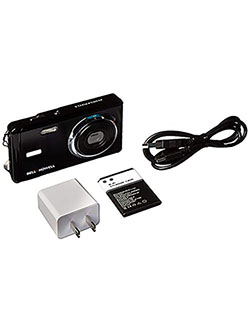 "Bell+Howell 20 Megapixels Digital Camera with 1080p Full HD Video with 3"" LCD, Black by Bell + Howell in Black, Toys"