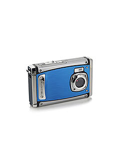 Bell+Howell WP20-BL Splash3 20 Mega Pixels Waterproof Underwater Digital Camera with Full 1080p HD V by Bell + Howell in Blue