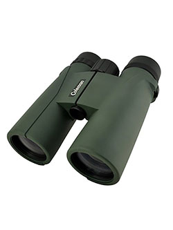 CS842WPG Signature 8 x 42mm Roof Prism Waterproof Binoculars by Coleman in Green
