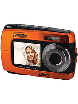 Duo2 18.0 MP HD Underwater Digital & Video Camera by Coleman in Orange, Toys