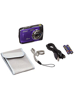 Xtreme 18.0 MP HD Underwater Digital & Video Camera by Coleman in Purple