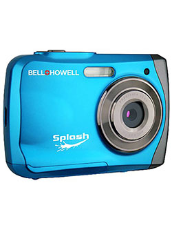 Bell+Howell WP7 16 MP Waterproof Digital Camera with HD Video by Bell + Howell in Sky blue