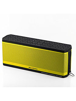 Bell+Howell BH50-Y Waterproof Desktop Bluetooth Speaker by Bell + Howell in Yellow