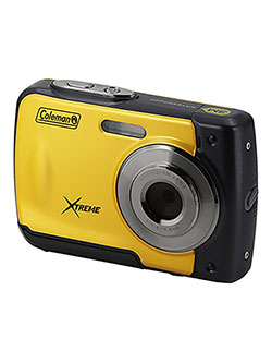 Xtreme 18.0 MP HD Underwater Digital & Video Camera by Coleman in Yellow, Toys