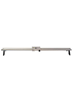 33.5-Inch Camera Slider for Cameras and Video by VGear in Silver
