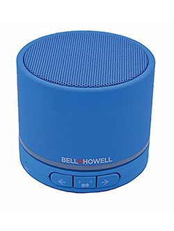 Bell+Howell BH20TWS-BL True Wireless Stereo Link Bluetooth Speaker by Bell + Howell in Blue