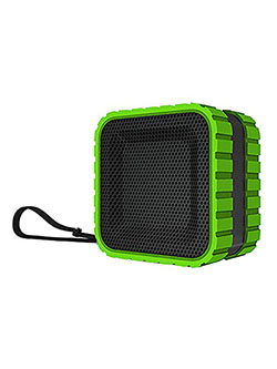 Aktiv Sounds Waterproof Bluetooth Cube Speaker by Coleman in Green