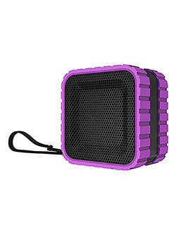 Aktiv Sounds Waterproof Bluetooth Cube Speaker by Coleman in Purple