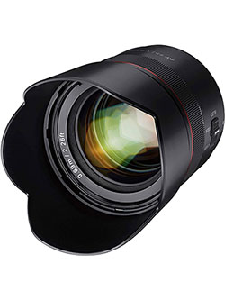 AF 75mm F1.8 Compact Auto Focus Telephoto Lens for Sony FE Mount by Samyang