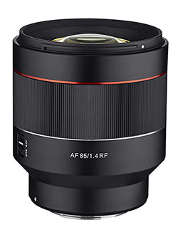 AF 85mm F1.4 Weather Sealed High Speed Auto Focus Lens for Canon EOS R Cameras by Rokinon