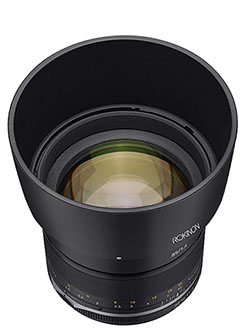 Series II 85mm F1.4 Weather Sealed Telephoto Lens for Nikon with Bult-in AE Chip by Rokinon