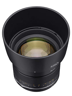Series II 85mm F1.4 Weather Sealed Telephoto Lens for Canon EF, Model Number: SE85-C by Rokinon, Toys