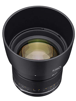 Series II 85mm F1.4 Weather Sealed Lens for Fuji X by Rokinon, Toys