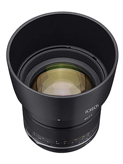 Series II 85mm F1.4 Weather Sealed Telephoto Lens for Canon M, SE85-M by Rokinon, Toys