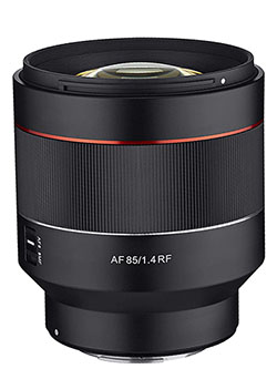 AF 85mm F1.4 Weather Sealed High Speed Auto Focus Lens for Canon EOS R Cameras by Samyang