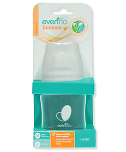 Balance Plus Wide Neck Bottle by Evenflo in White