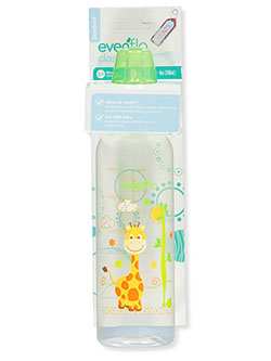 Classic Zoo Friend Bottle by Evenflo in Lime