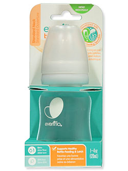 Standard Neck Baby Bottle by Evenflo in Multi