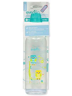 Standard Baby Bottle by Evenflo in Teal