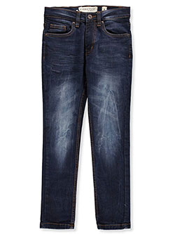 Boys' Slim Jeans by Evolution in Design in light tint and sky blue