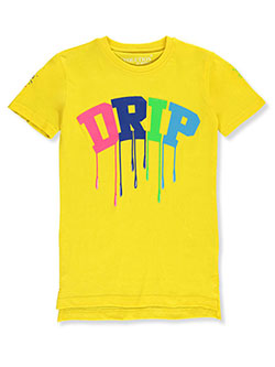 Boys' Drip Graphic T-Shirt by Evolution in Design in Yellow