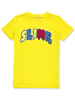 Boys' Chenille Slime T-Shirt by FWRD in Yellow - T-Shirts
